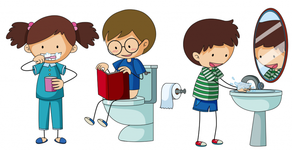 Tuvalet eğitimi çocuk gelişiminde önemli basamaklardan birisidir. Çocuğun psikolojisi, fiziksel durumu ve çevrenin sosyo-kültürel durumundan etkilenir. Çocuklar 18. aya kadar mesane ve anüs kaslarını kontrol edemezler. Ancak 2 yaşında kontrolü tam sağlayabilirler. Yine burada çocuğun gelişim basamakları dikkate alınarak hazır olup olmadığı düşünülmelidir. Tuvalet eğitimi verirken annenin de ruh halinin iyi olması ve yoğunluk durumunu buna göre ayarlaması gerekir. Anne sabırlı, kararlı ve hoş görülü olmalıdır. Tuvalet eğitimi için çocuk kadar annede hazır olmalıdır. Başlamak için yaz ayları gibi annenin daha rahat olduğu, bez olmadan dolaşma olanaklarının bulunduğu aylar daha uygundur. Tüm süreç boyunca çocuk desteklenmelidir. Tuvalet Eğitimine Başlangıç Belirtileri Çocuğun tuvalet eğitimine hazır olma belirtilerini anne dikkate almalıdır. Bu belirtiler nelerdir? • Gün içinde birkaç saat kuru kalma veya gündüz uykusundan kuru kalkma, • Gece kakasını yapmadan uyanması, • İdrar yaparken veya kaka yaparken kelimelerle, hareketlerle ya da mimiklerle ifade etmeye başlaması, • Basit emirleri anlayıp yapması, • Anne babanın davranışlarını taklit etmesi, • Aileyi takip ederek, tuvalet eğitimine ilgi göstermesi, • Eşyaları ait oldukları yere koyması, • Yürüyüp, oturup kalkabilmeli, • Kendi başına giysilerini giyinip çıkarabilmesi… Eğitimde Lâzımlığa Alışma Evresi Bu belirtileri gösteren çocuğumuzla idrar ve gaita için sürekli kullanacağımız ortak bir sözcük üzerinde karara varılır (Çiş, kaka vs). Çocukla beraber bir lazımlık alınır. Çocuk lazımlığın üstünde ayakları yere bastığı için ve içine düşmekten korkmadığı için kendini güvende hisseder. Çocuğun kolay ulaşabileceği ve görebileceği bir yere konulur. Örneğin çocuğun kendi odasına konulabilir. Lazımlığa alışması için önce giysileri ile oturup oyuncakları ile oynaması teşvik edilir. Lazımlık üzerinde vakit geçirmesi sağlanır. Alıştıktan sonra ilk başlarda bezli olarak yemekten 20-30 dakika sonra, günde 2-3 kez 5-10 dakika l
