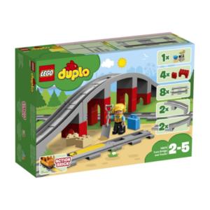 LEGO Duplo 10872 Tren Köprüsü Ve Rayları